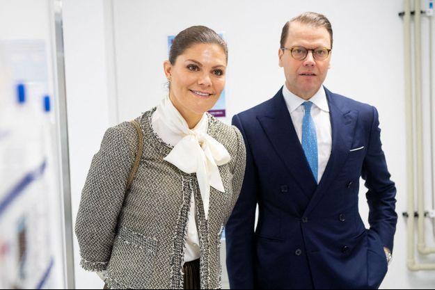 La princesse héritière Victoria de Suède et le prince consort Daniel, le 30 janvier 2020