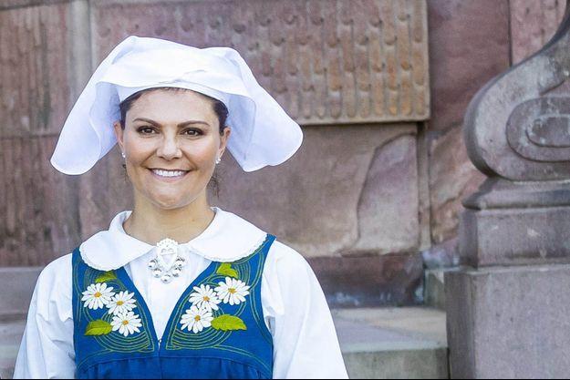 La princesse Victoria de Suède le 6 juin 2019, jour de la Fête nationale suédoise