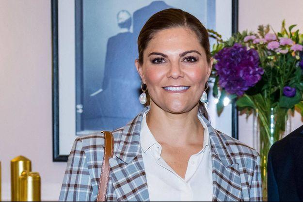 La princesse Victoria de Suède, le 10 septembre 2020
