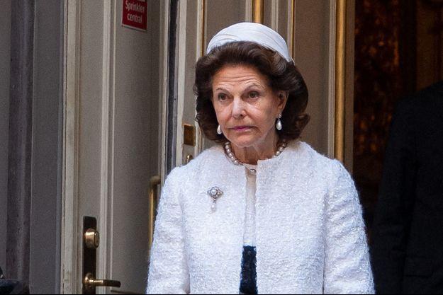 La reine Silvia de Suède, le 8 septembre 2020