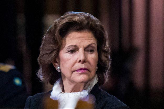 La reine Silvia de Suède, le 31 octobre 2020