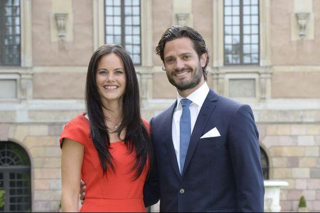 La photo officielle des fiançailles de Carl-Philip et Sofia.