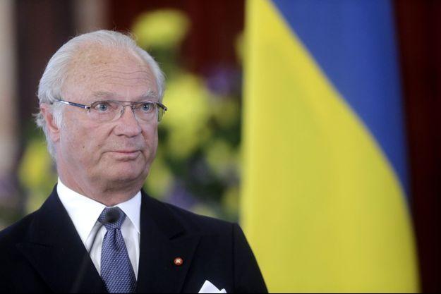 le roi Carl XVI Gustaf de Suède en mars dernier.