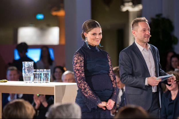 La princesse Victoria de Suède à Stockholm, le 10 février 2016