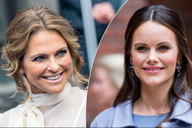 La princesse Madeleine de Suède le 15 juin 2017- La princesse Sofia de Suède, née Hellqvist le 9 juin 2017