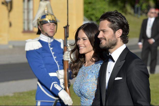 Carl Philip de Suède et Sofia au diner.