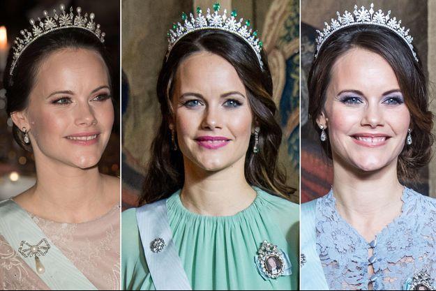 La princesse Sofia de Suède, les 10 et 11 décembre et le 23 novembre 2017