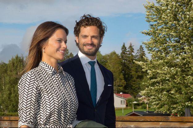 Le prince Carl Philip et la princesse Sofia le 27 août 2015