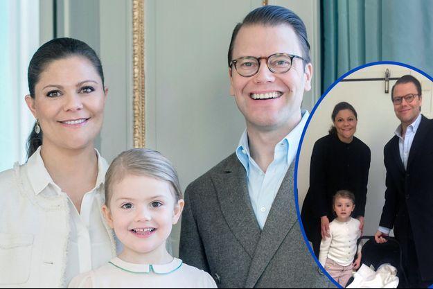 Victoria de Suède, Daniel et Estelle