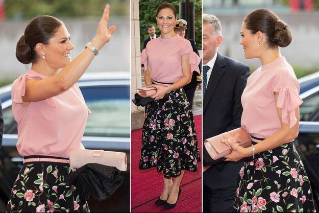 La princesse Victoria de Suède à Helsinki, le 16 septembre 2017