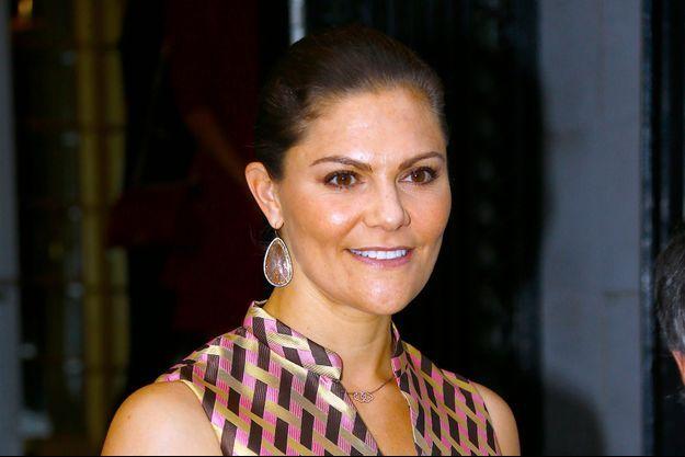 La princesse Victoria de Suède le 20 septembre 2018