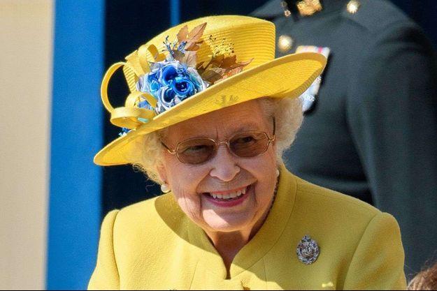 La reine Elizabeth II à Edimbourg, le 2 juillet 2018