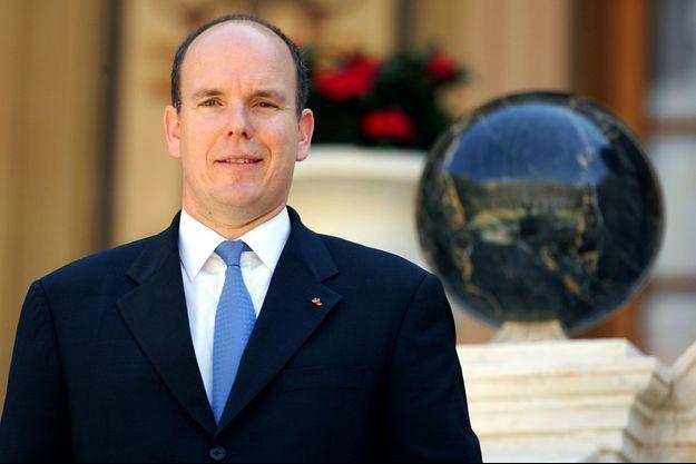 Albert de Monaco, après les cérémonies d'intronisation du nouveau prince, le 12 juillet 2005.