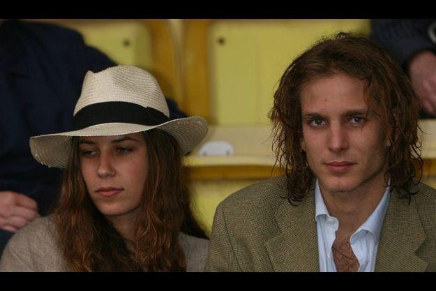 Tatiana Santo Domingo et Andrea Casiraghi à Monaco en 2006.