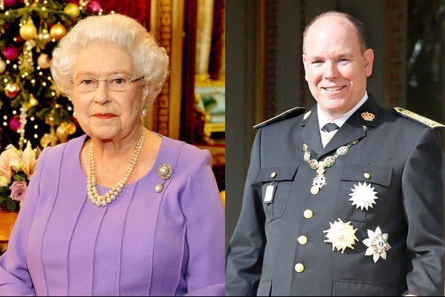 Elizabeth II le 25 décembre 2014 - Albert II de Monaco le 19 novembre 2014