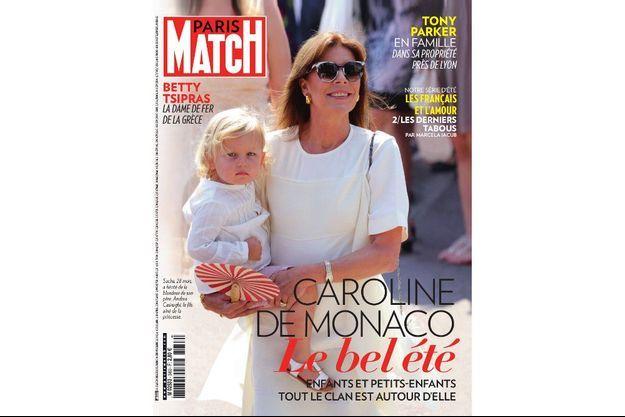 Sacha, 28 mois, a hérité de la blondeur de son père, Andrea Casiraghi, le fils aîné de la princesse.