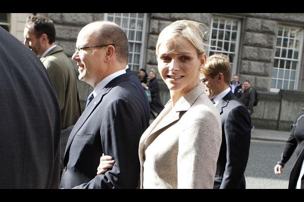 Cinquante ans après Rainier et Grace, leur fils Albert a emmené sa fiancée en Irlande, pour une visite d'Etat, du 4 au 6 avril.