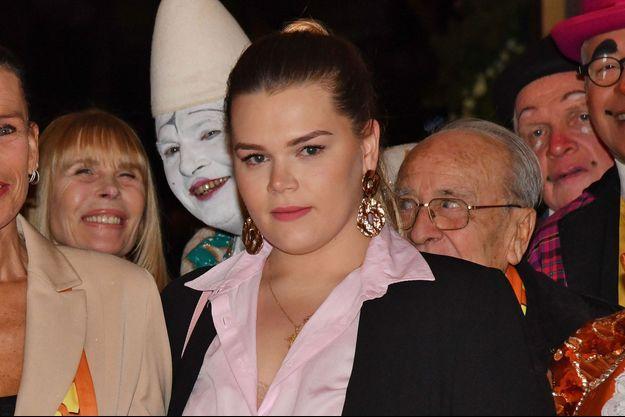 Camille Gottlieb à Monte-Carlo, le 19 janvier 2019
