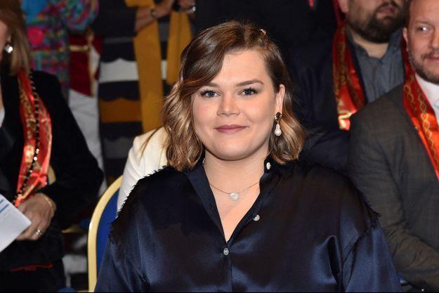 Camille Gottlieb à Monaco en janvier 2020.