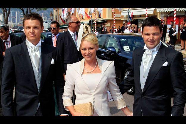Gareth, Lynette et Sean Wittstock.