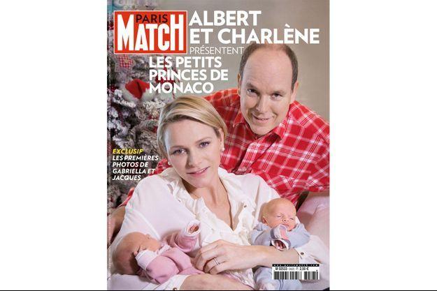 Couverture de Paris Match numéro 4223.