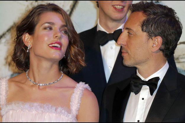 Le couple en mars dernier, au Bal de la Rose à Monaco.