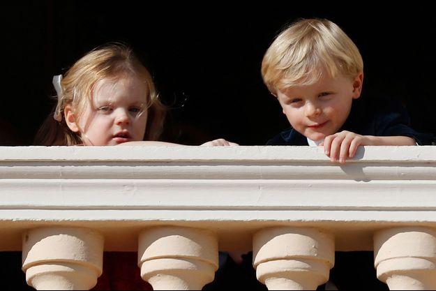 La princesse Gabriella et le prince Jacques de Monaco à Monaco, le 19 novembre 2018
