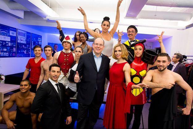La troupe Eloize rend hommage à l'histoire de Monaco avec le spectacle «Monaco ou les amants du Rocher».