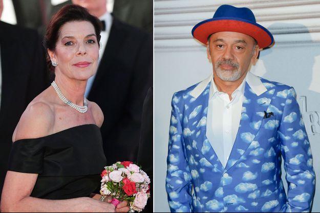 La princesse Caroline de Hanovre au Bal de la Rose à Monaco, le 30 mars 2019 - Christian Louboutin à Paris, le 22 janvier 2020
