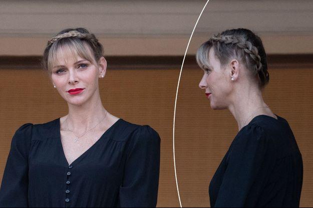 La princesse Charlène de Monaco, le 23 juin 2020