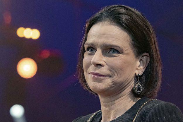 La princesse Stéphanie de Monaco, le 22 janvier 2020