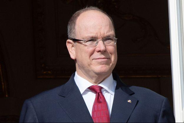 Le prince Albert II de Monaco, le 27 janvier 2020
