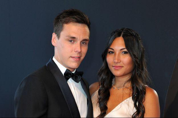 Louis Ducruet et sa fiancée Marie