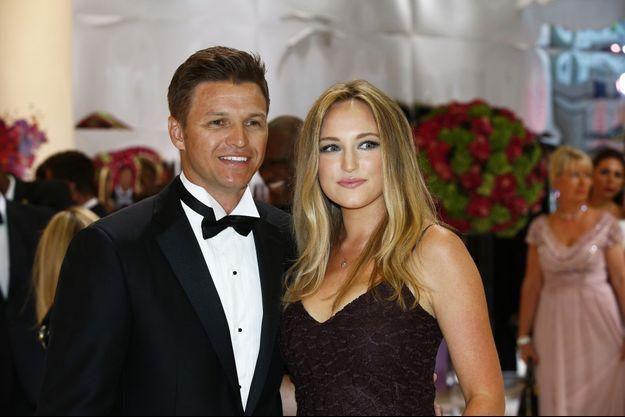Gareth Wittstock a épousé sa compagne Roisin Gavin cette semaine à Monaco.
