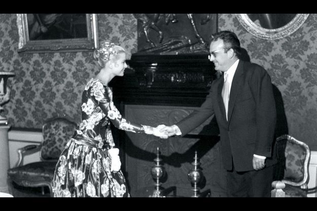 La première rencontre au palais, en juin 1955