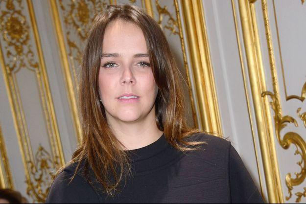 Pauline Ducruet, la fille de la princesse Stéphanie de Monaco, à Paris le 5 mars 2017