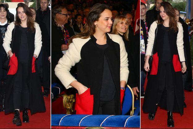 Pauline Ducruet, fille de la princesse Stéphanie de Monaco, à Monaco le 22 janvier 2017