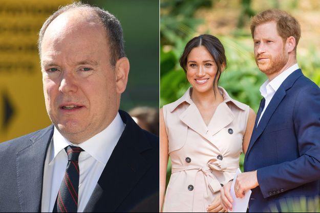 Le prince Albert II de Monaco et les Sussex