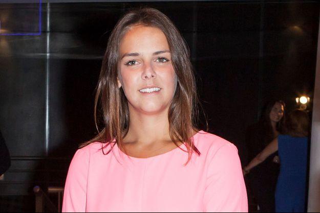 Pauline Ducruet à Monaco, le 26 juillet 2014