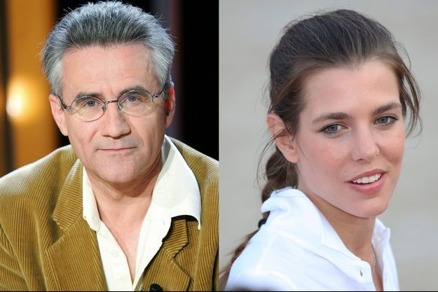 André Comte-Sponville et Charlotte Casiraghi (Montage)
