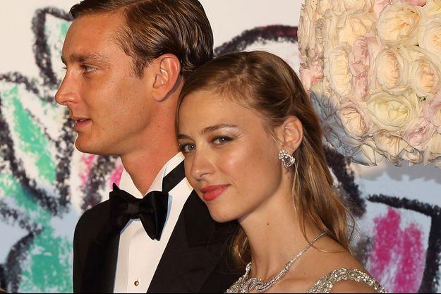 Pierre et Béatrice, au bal de la Rose, en mars 2015.