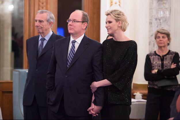 La princesse Charlène est apparue rayonnante lors du cocktail donné par sa Fondation en février dernier.