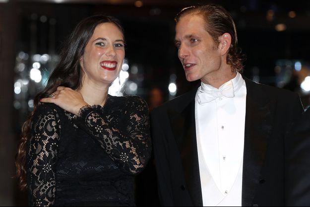 Tatiana Santo Domingo et Andrea Casiraghi à Monaco, le 19 novembre 2014