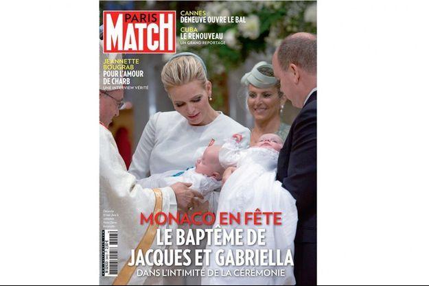 This week in Paris Match magazine.