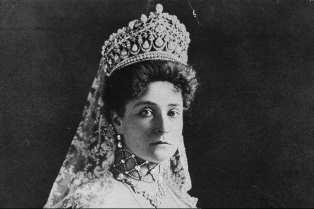 La tsarine de Russie Alexandra, épouse du tsar Nicolas II, en 1914
