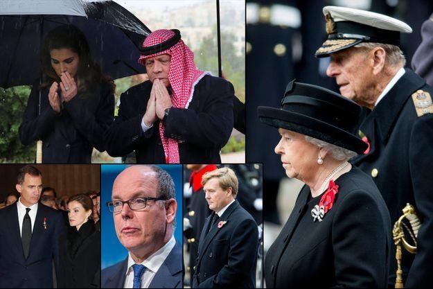 Les souverains d'Europe, du Maroc, de Jordanie ont adressé leurs condoléances à la France
