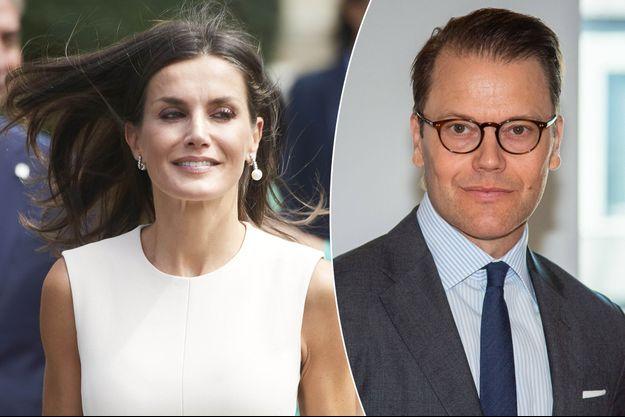 La reine Letizia d'Espagne, le 12 septembre 2019 - Le prince consort Daniel de Suède, le 3 septembre 2019
