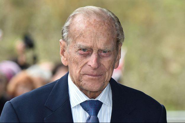 Le prince Philip, le 15 octobre 2015
