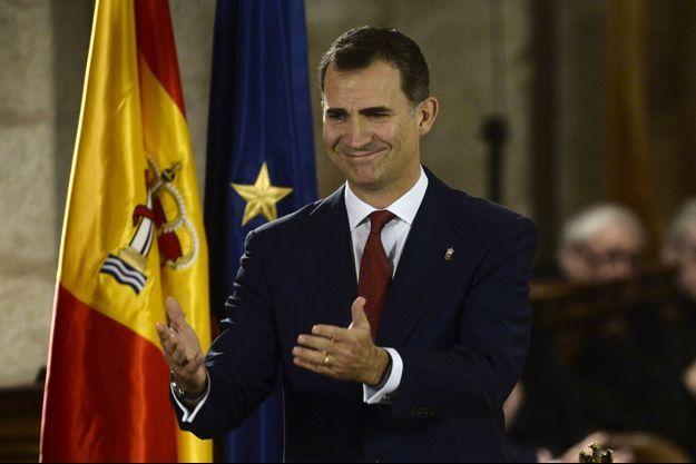 Le prince Felipe deviendra roi le 19 juin.