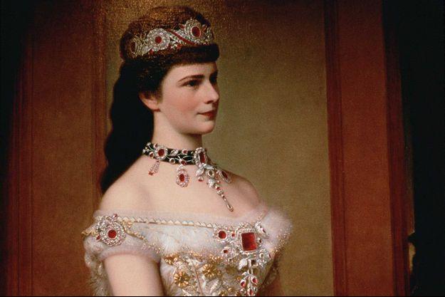 L'impératrice Élisabeth d'Autriche, reine de Hongrie, en 1879. Portait par Georg Raab.